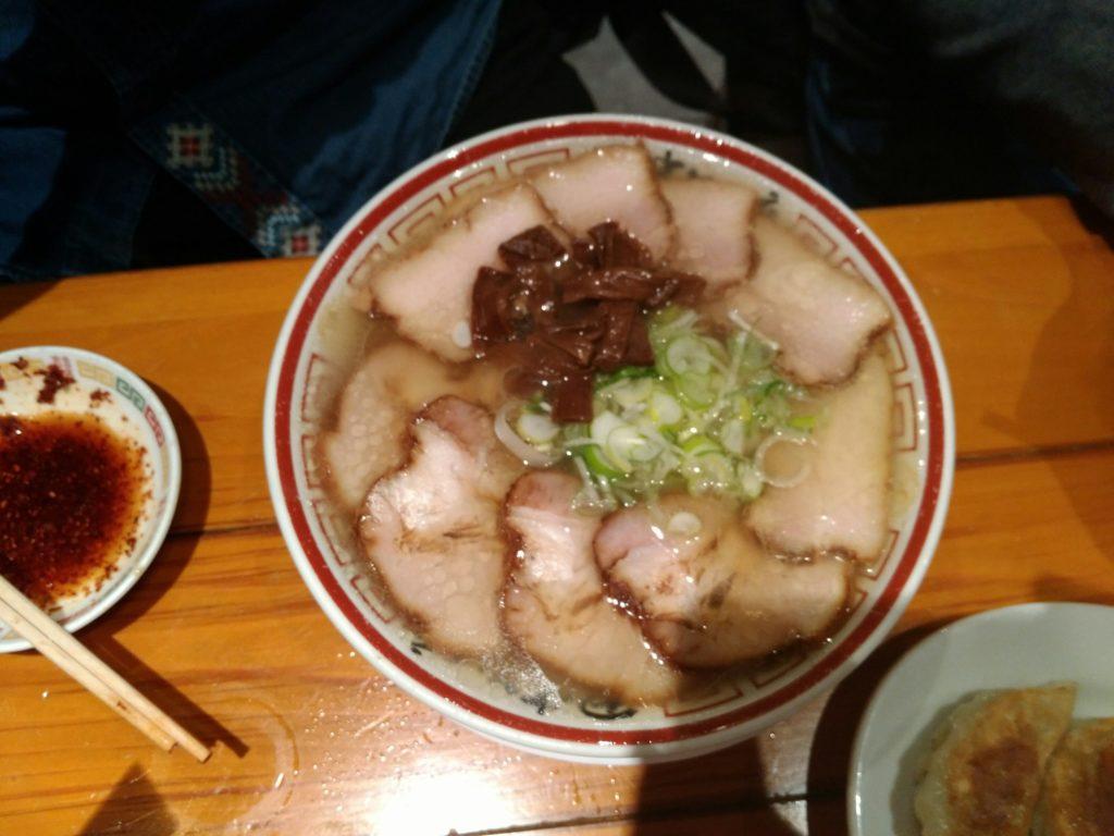 田中そばの肉そば