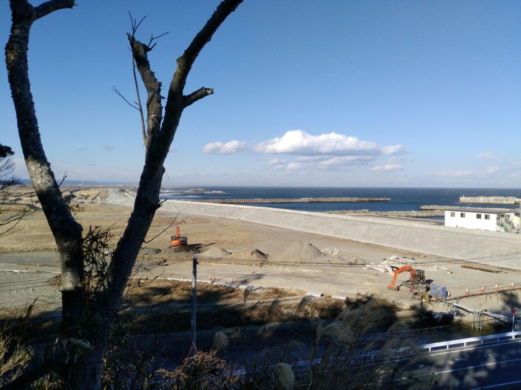 山元町 磯崎山公園からの風景