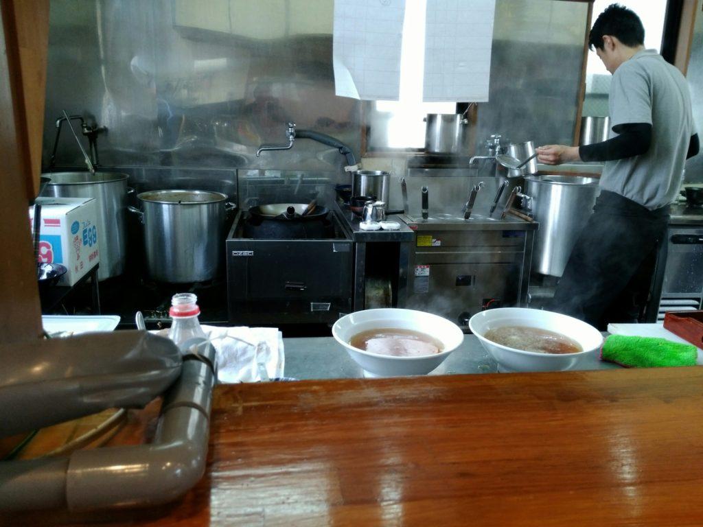 麺匠一丞 厨房