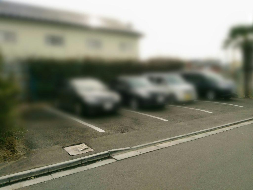 麺匠一丞 駐車場