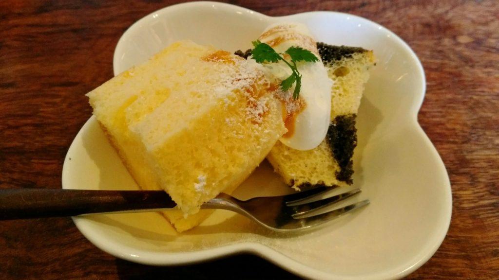 名取市 カフェ食堂ラフ シフォンケーキ