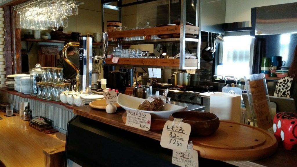名取Cafe食堂Laugh キッチン