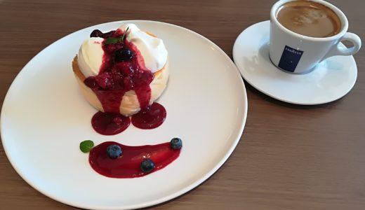 今日はカフェでスイーツ|あすと長町「Cafe Astiy」のパンケーキ