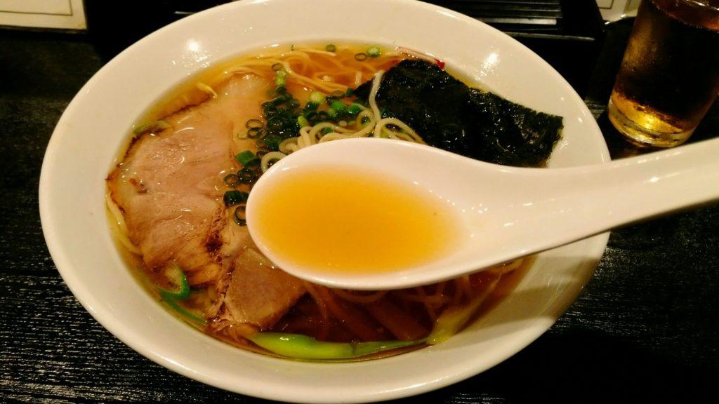 角屋 サバだしラーメン スープ
