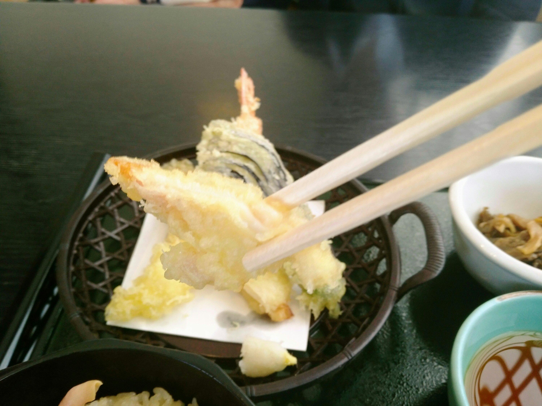 田園 ホッキの天ぷら