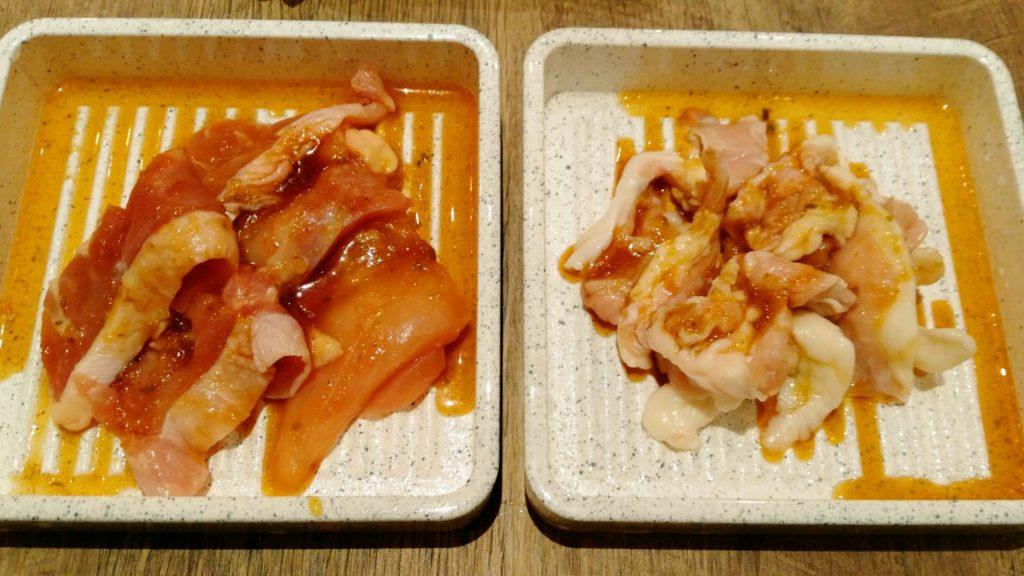 ビーフィーズ 仙台中田店 鶏モモ 鶏カルビ