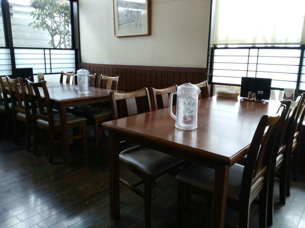 伊達の牛タン本舗 東インター店 テーブル席