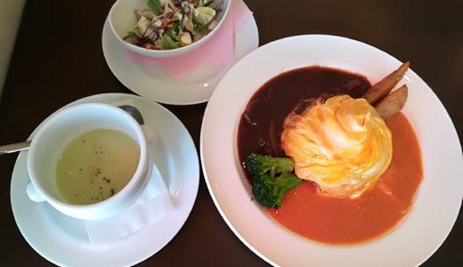 今日のカフェランチ|長町太子堂「ヴィンテージカフェ」のオムライスと自家焙煎コーヒー