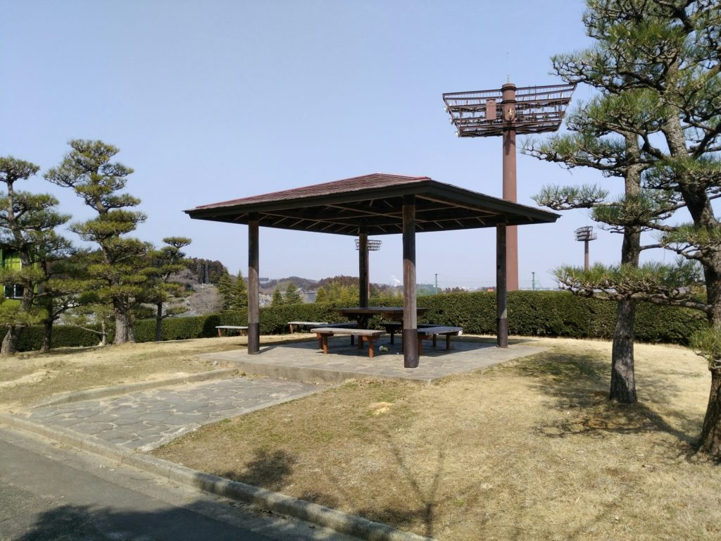 亘理公園 東屋