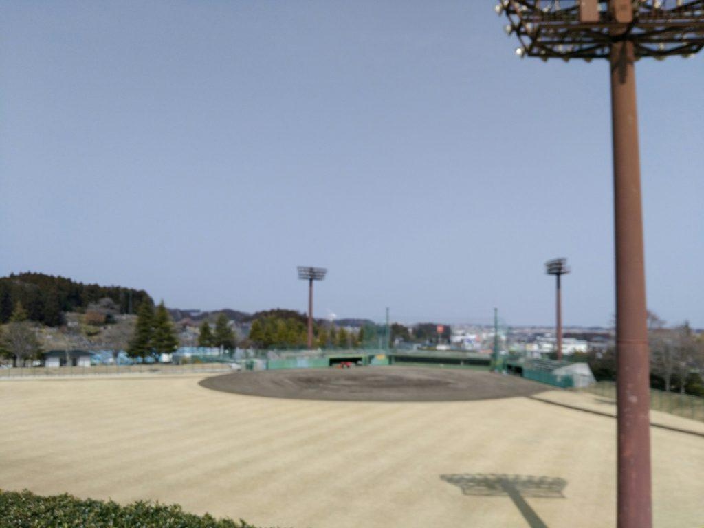 亘理公園 野球場