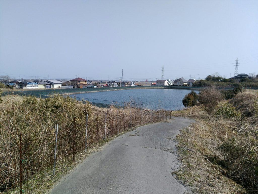 亘理町 堺堤溜池