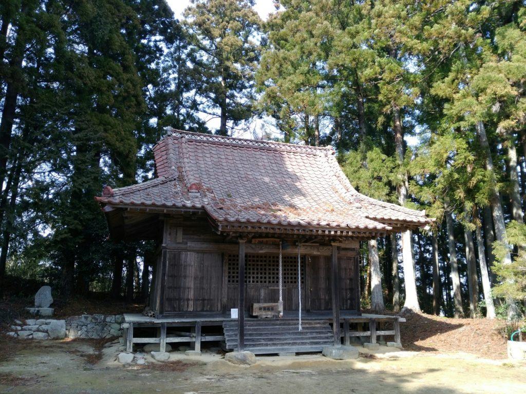 深山山麓少年の森(菱沼の里) 神社