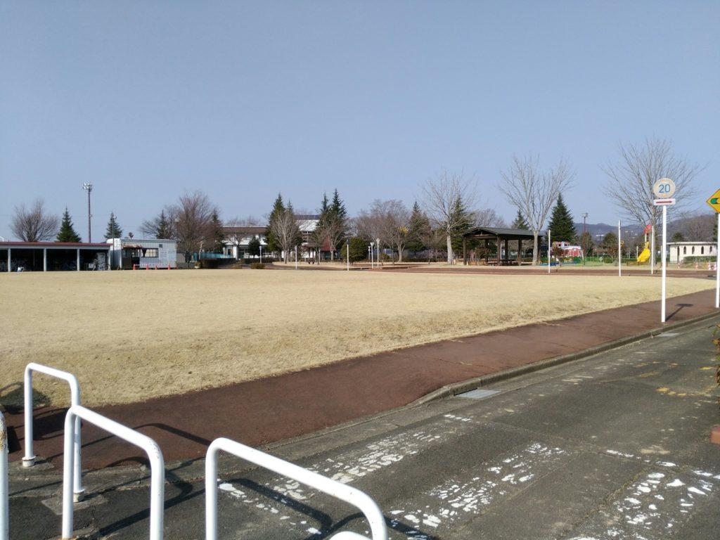 角田中央公園 自転車広場