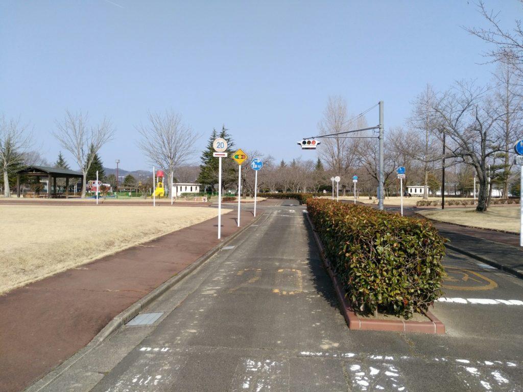 角田中央公園 交通公園