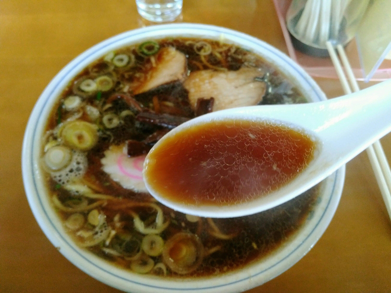 角田ブラック スープ