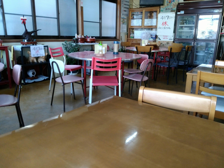 角田市 光華飯店 テーブル席