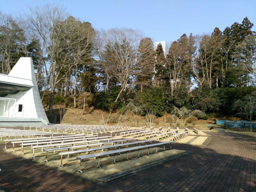 角田市 台山公園 野外ステージ