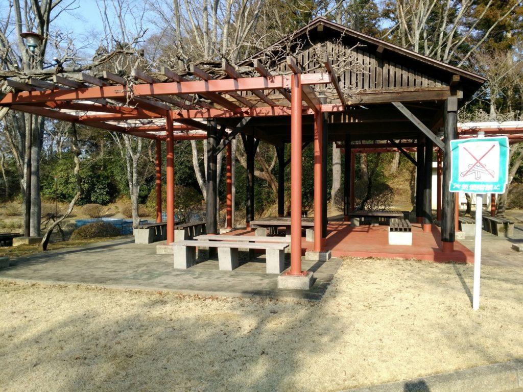 台山公園 東屋