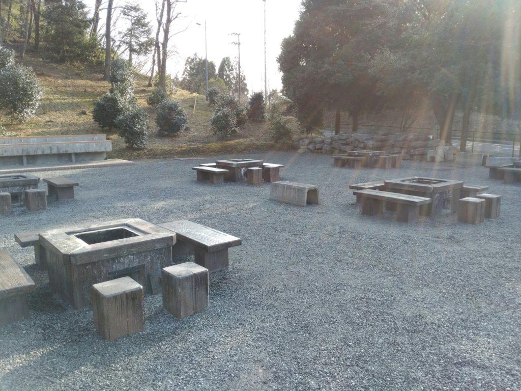 角田市 台山公園 バーベキュー広場