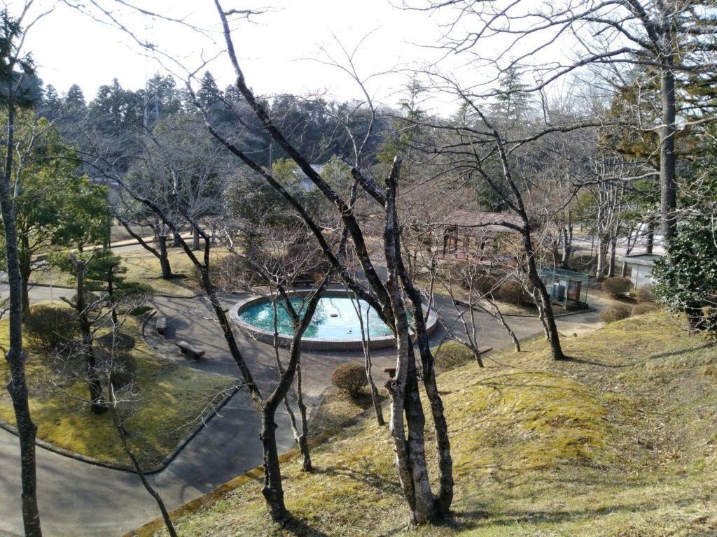 台山公園 噴水広場