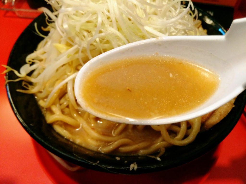 岩沼 麺屋小十郎 スープ
