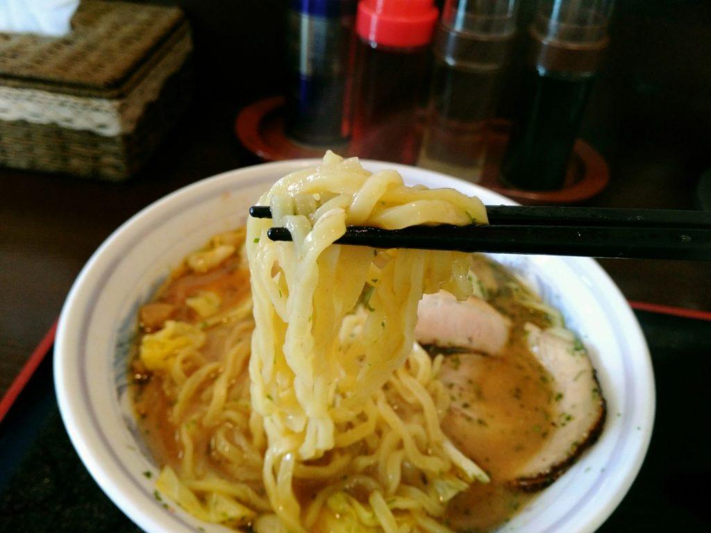 姫らーめん 中華麺