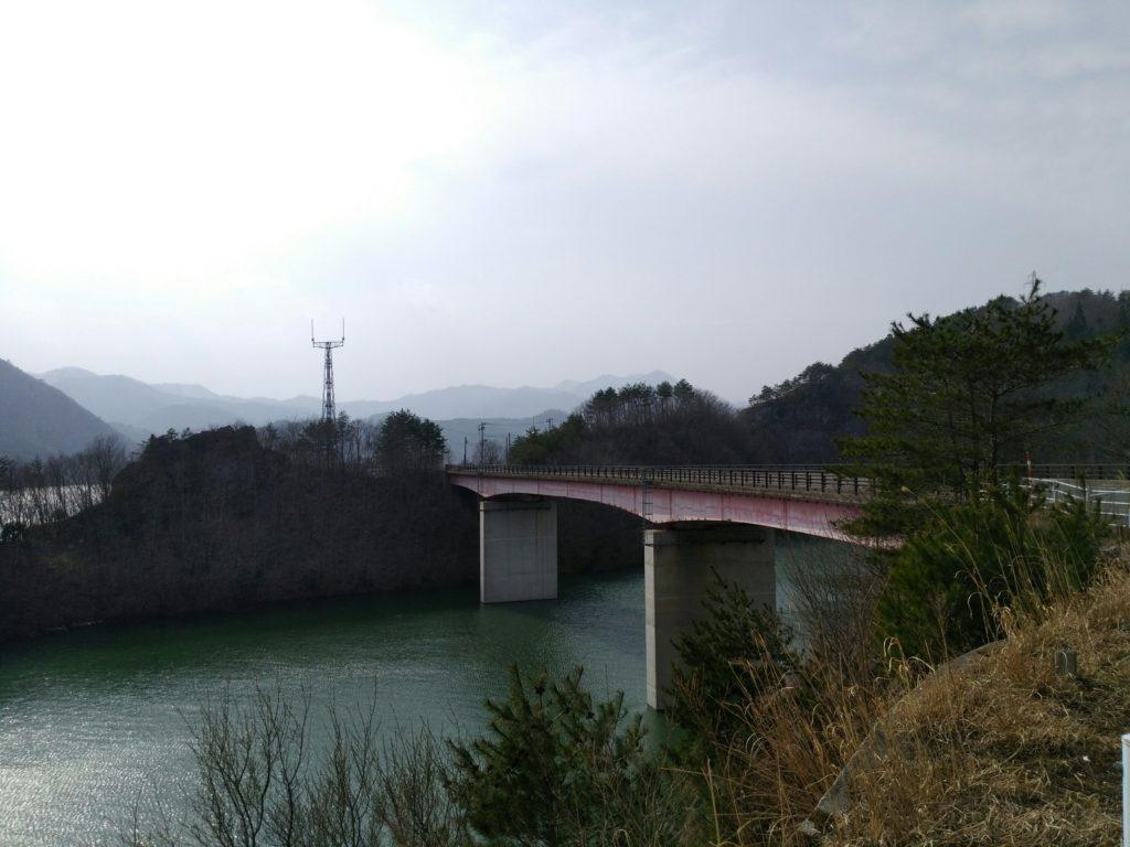 七ヶ宿ダム 橋