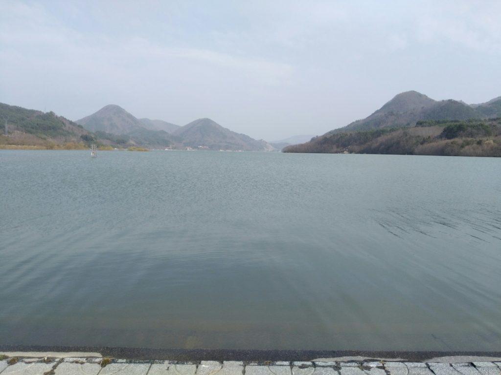 七ヶ宿公園 七ヶ宿湖