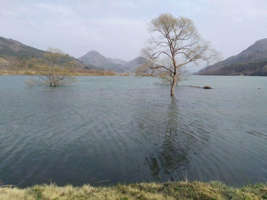 七ヶ宿自然休養公園 七ヶ宿湖