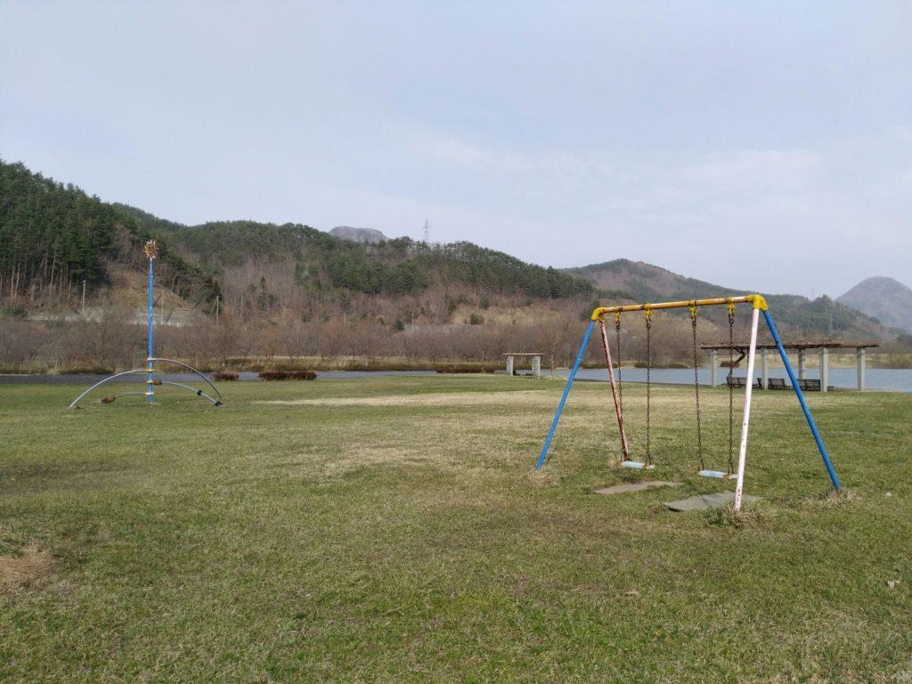 七ヶ宿自然休養公園 遊具