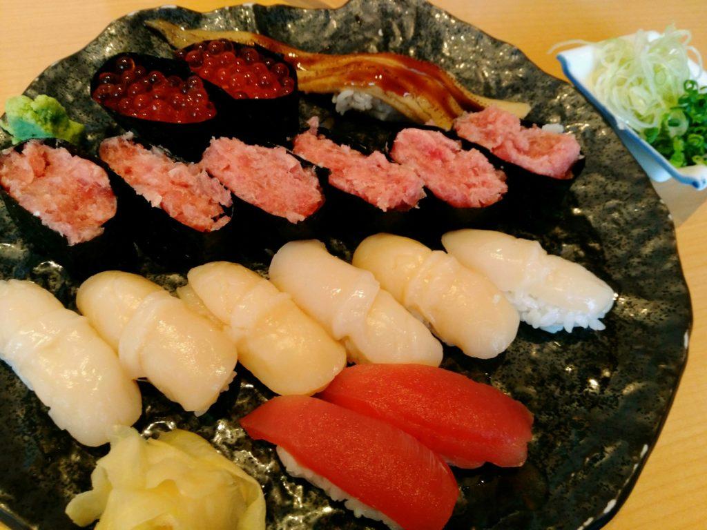 浜や あすと長町店 単品寿司