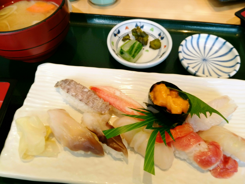 浜や あすと長町店 閖上寿司三昧