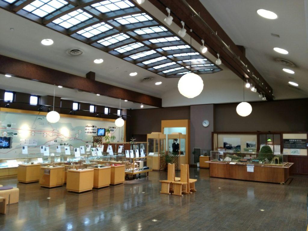 秋保里センター 工芸品の展示室