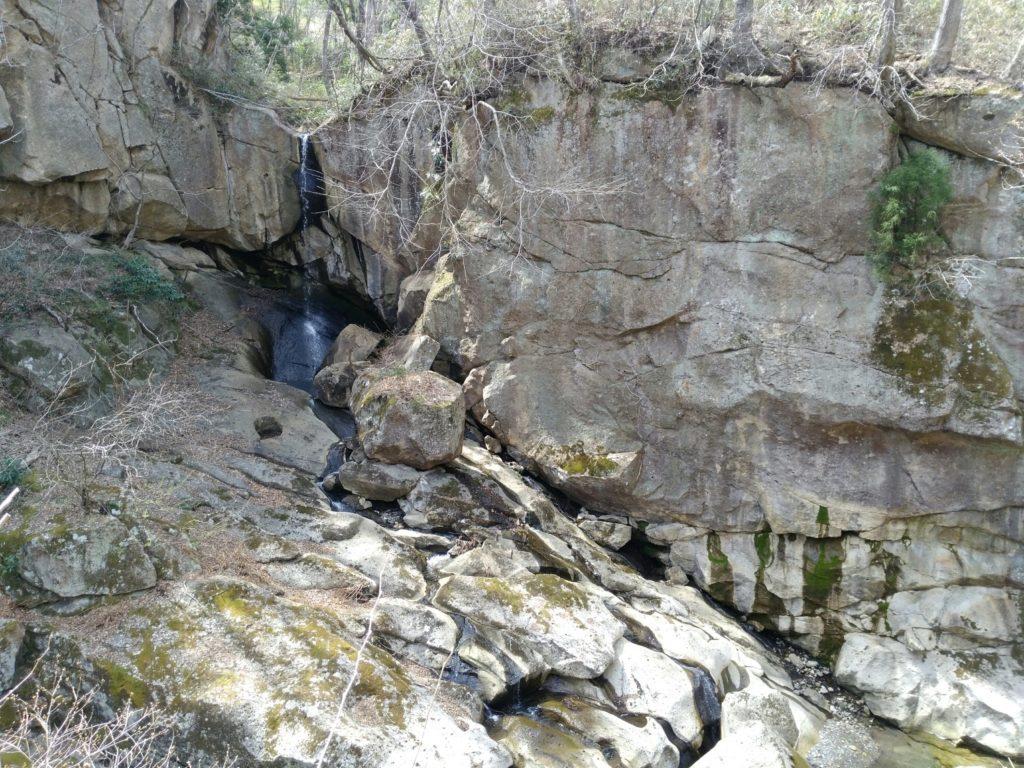 秋保 磊々峡 三筋滝