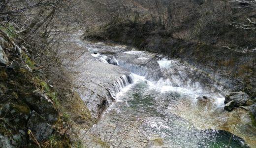 秋保大滝植物園レポ|すだれ滝とみぞれ滝(初春)