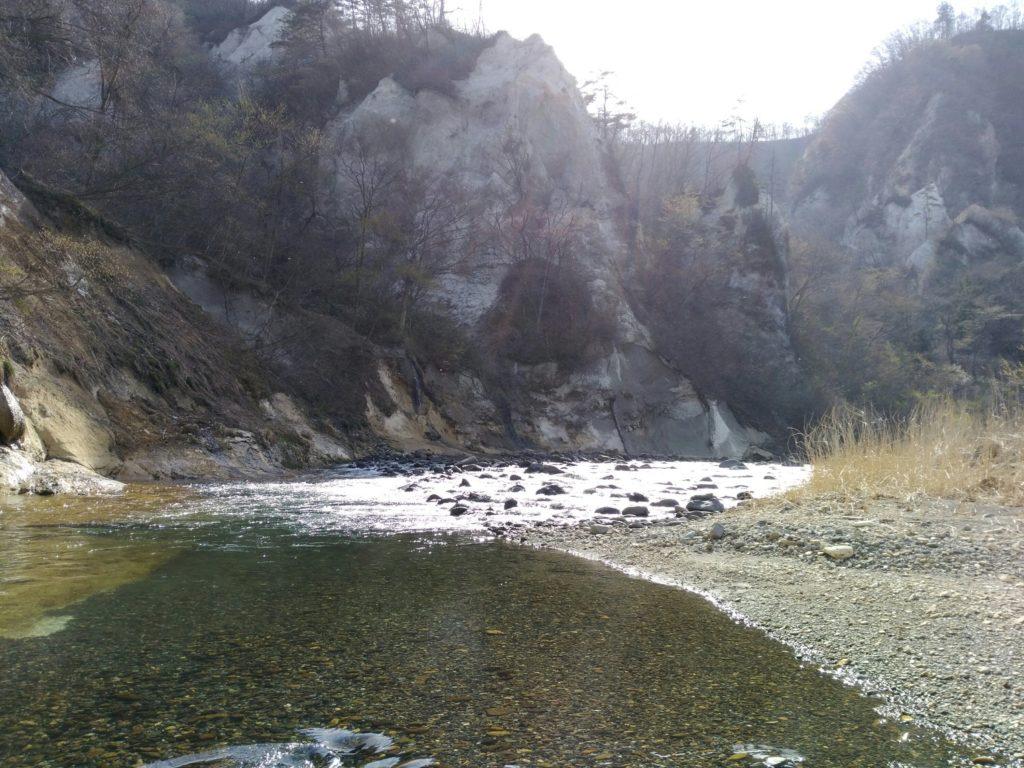 秋保 白岩 ふもと付近