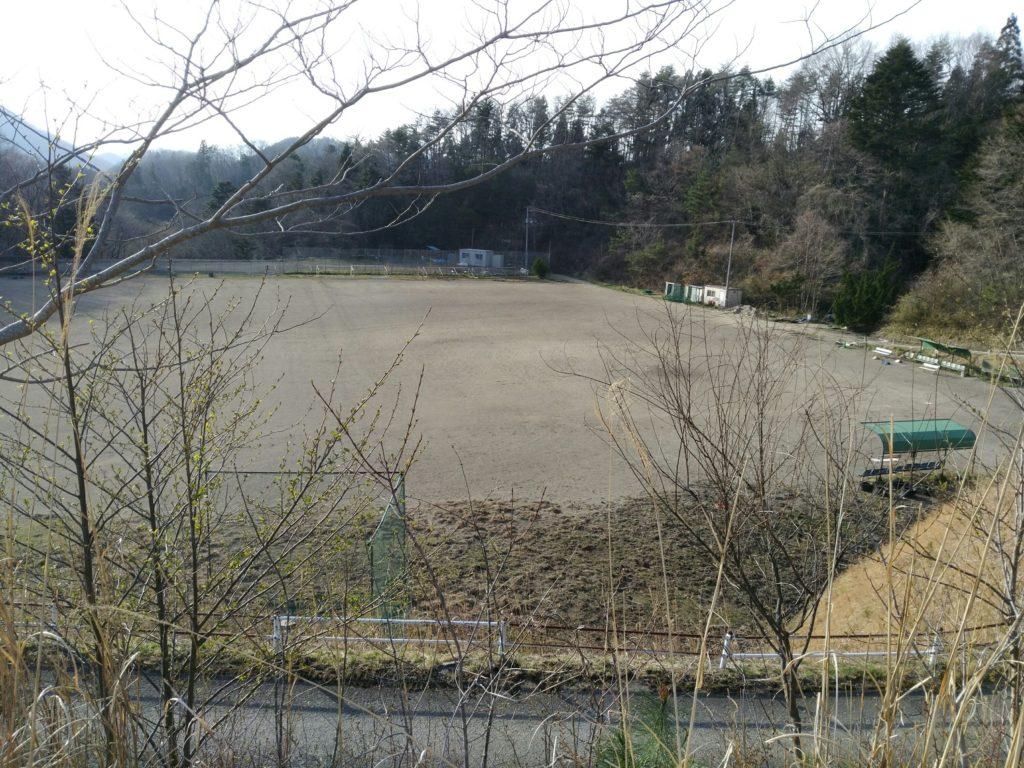 秋保森林スポーツ公園の総合グラウンド