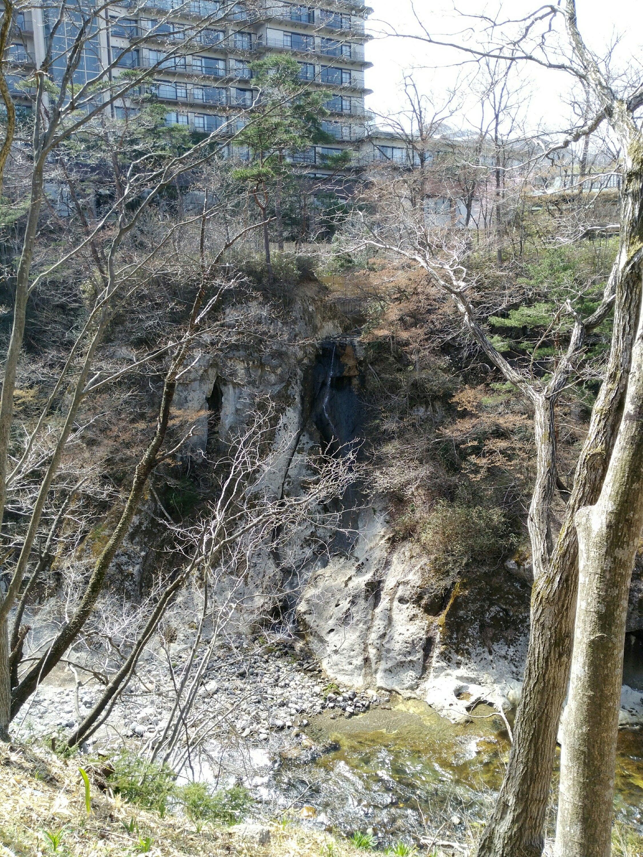 秋保 磊々峡 瑞鳳近くの滝