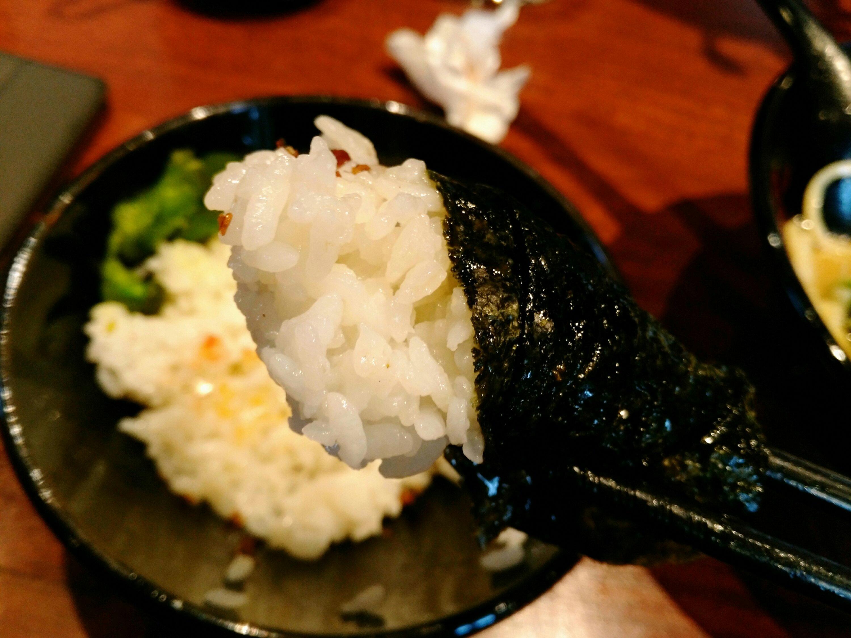 一翔 南仙台店 煮干しふりかけ 豆板醤海苔巻き