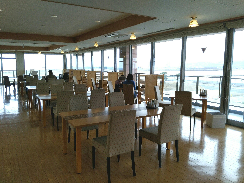 鳥の海温泉 レストラン鳥の海側