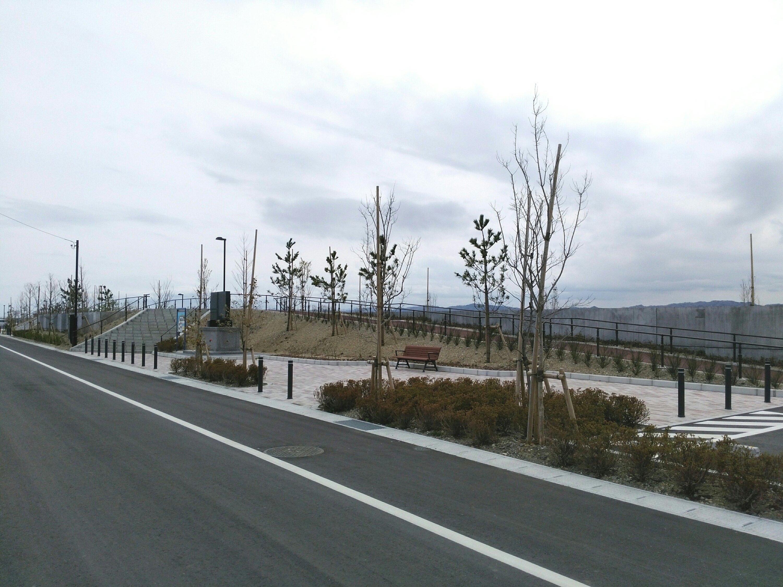 亘理町 荒浜漁港公園