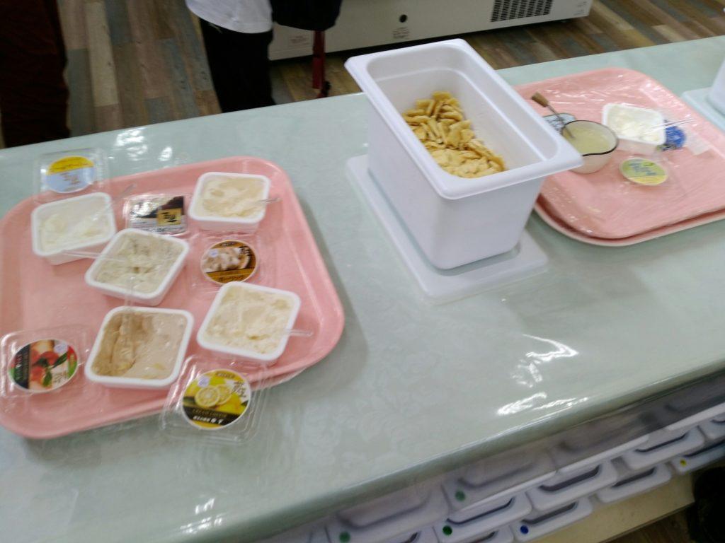 蔵王酪農センター クリームチーズ 試食