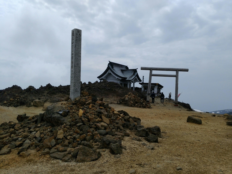 刈田岳 山頂 刈田嶺神社
