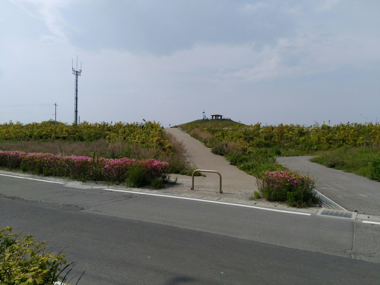 二野倉公園 7号丘への道