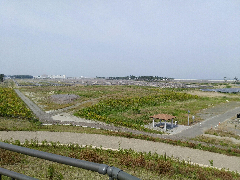 7号丘からの海岸方面