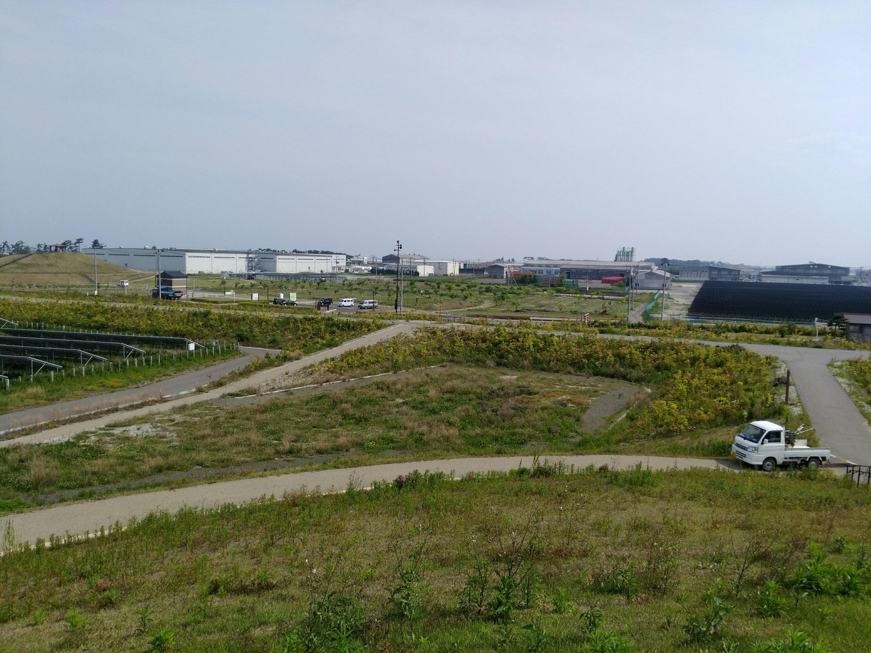 7号丘からの二野倉公園方面