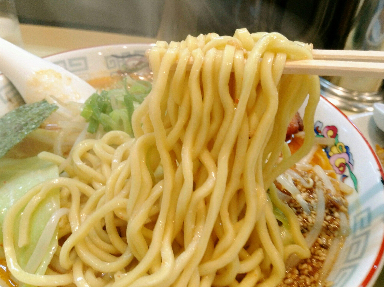 岩沼市 らーめん いっぽ 麺