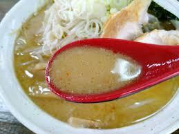 麺家一芯 味噌 スープ