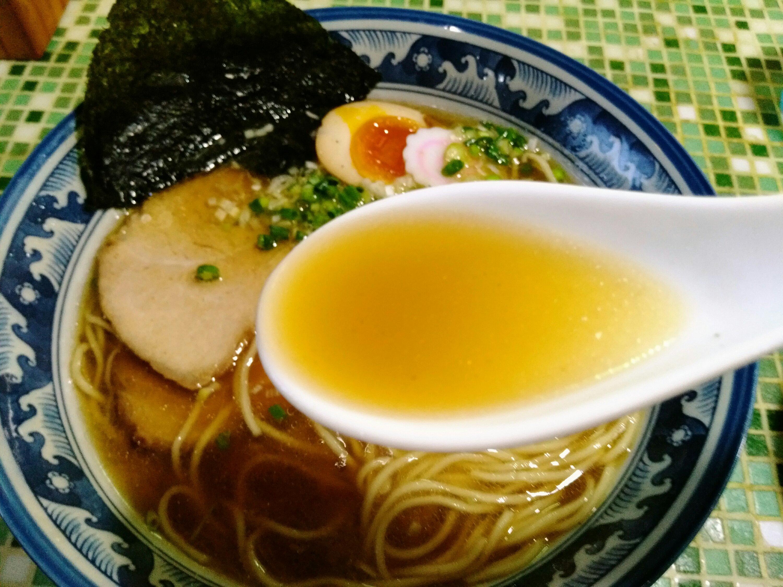 いぶし中華そば スープ