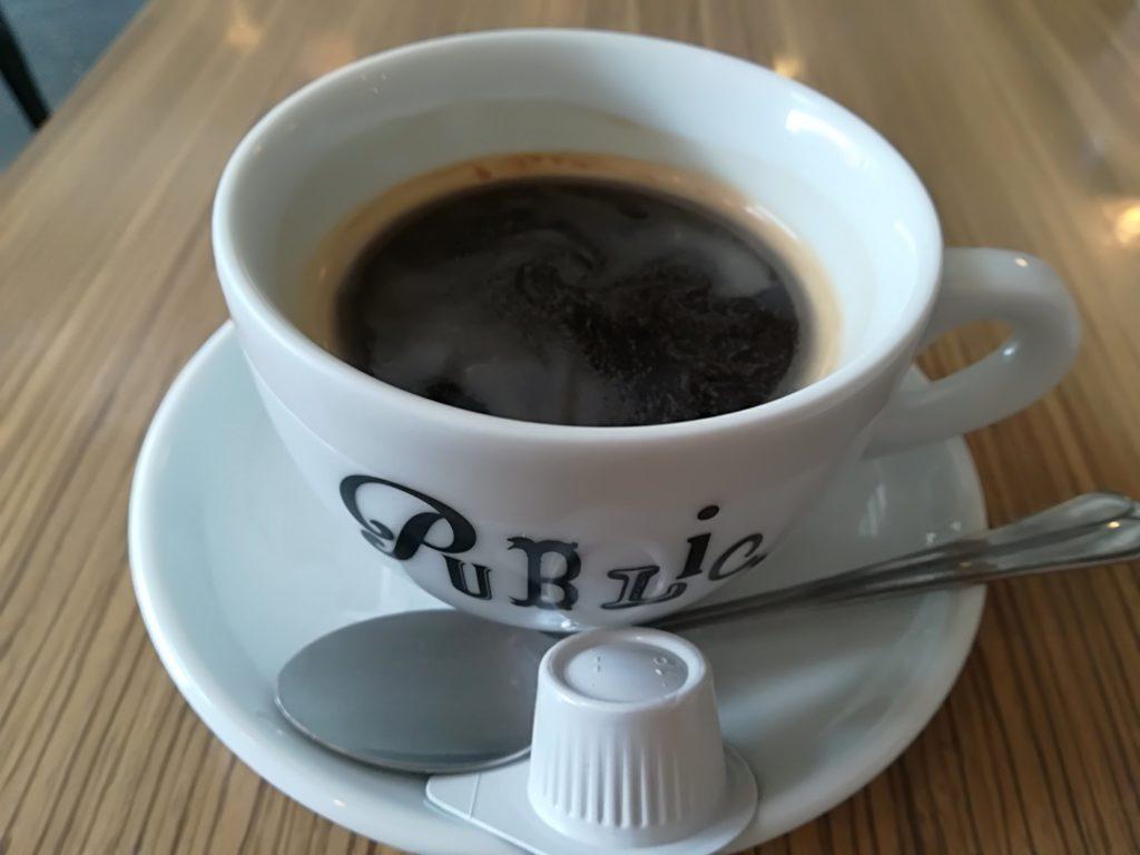 長町 PUBLIC.coffee&bar ほの香のコーヒー